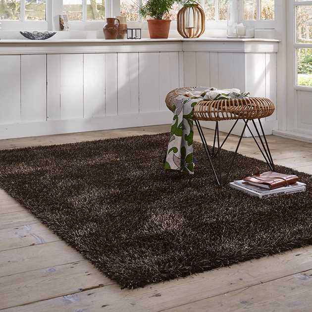 Esprit Cosy Glamour Rugs 0400 85 Brown