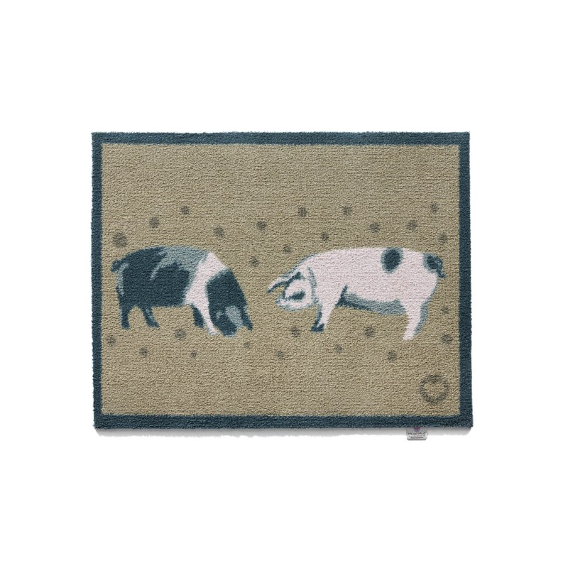 hug rug country pigs mats 1 buy online from the rug seller uk. Black Bedroom Furniture Sets. Home Design Ideas