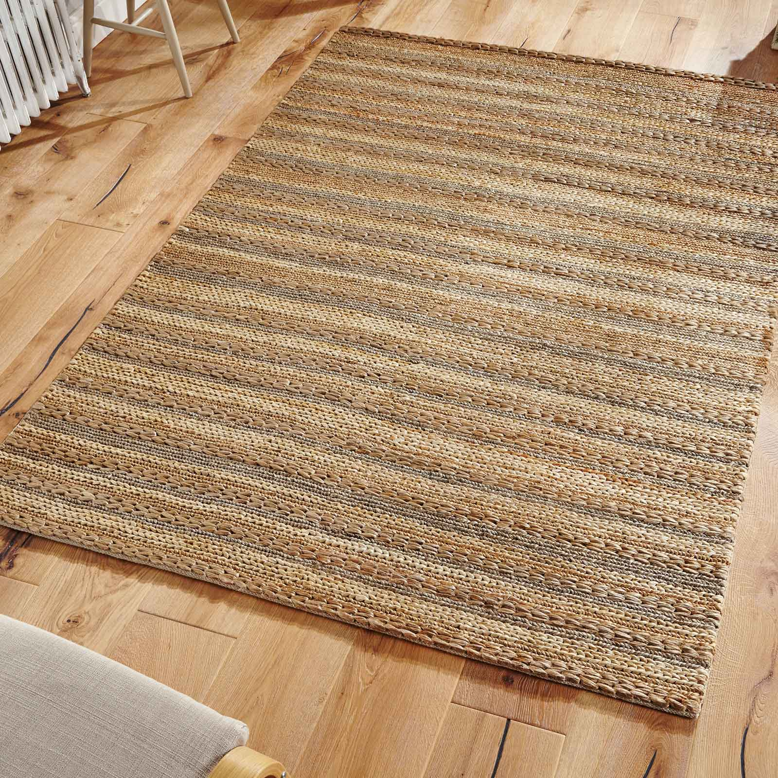 Crestwood Jute Rugs in Grey