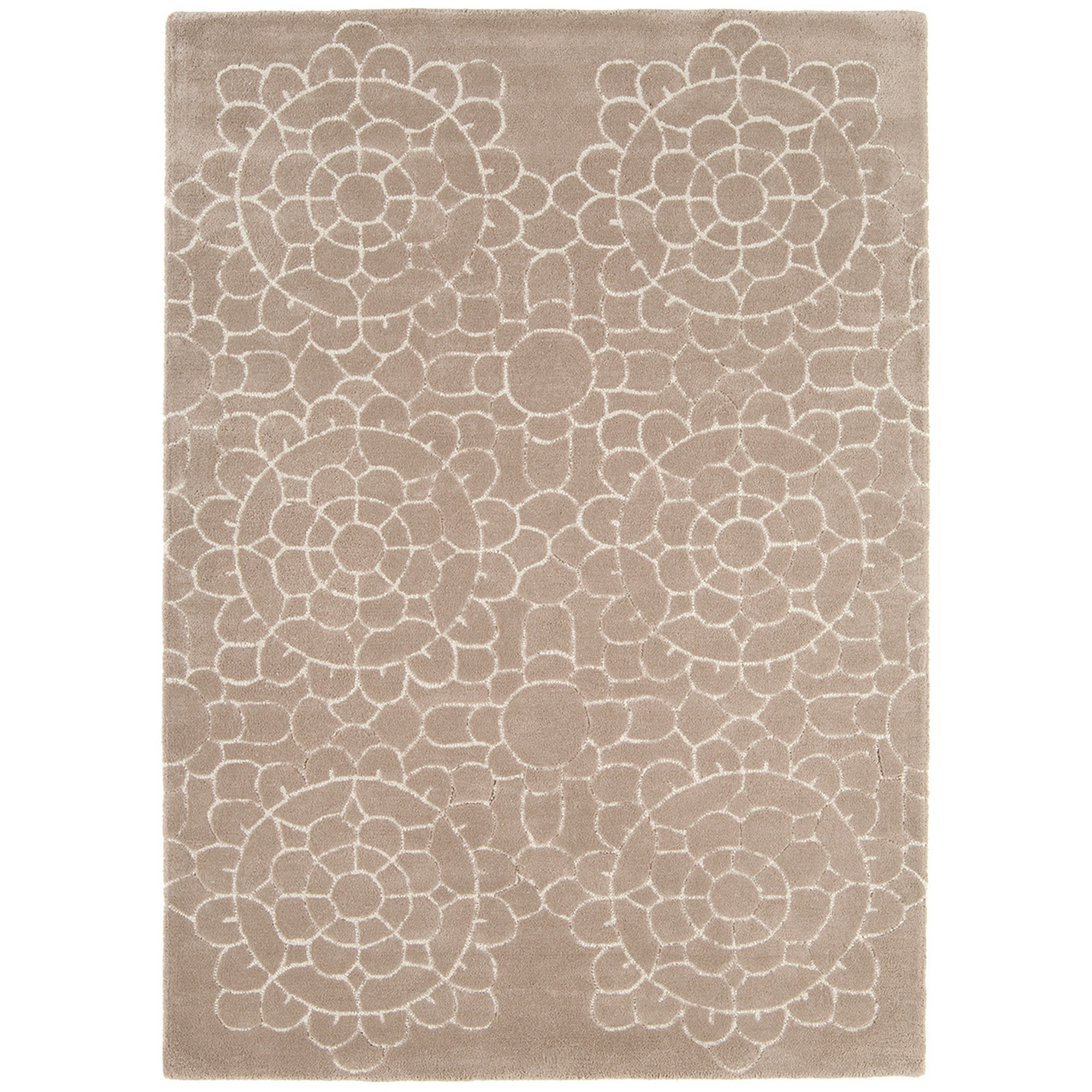 Matrix Crochet Rugs MAX18 Beige