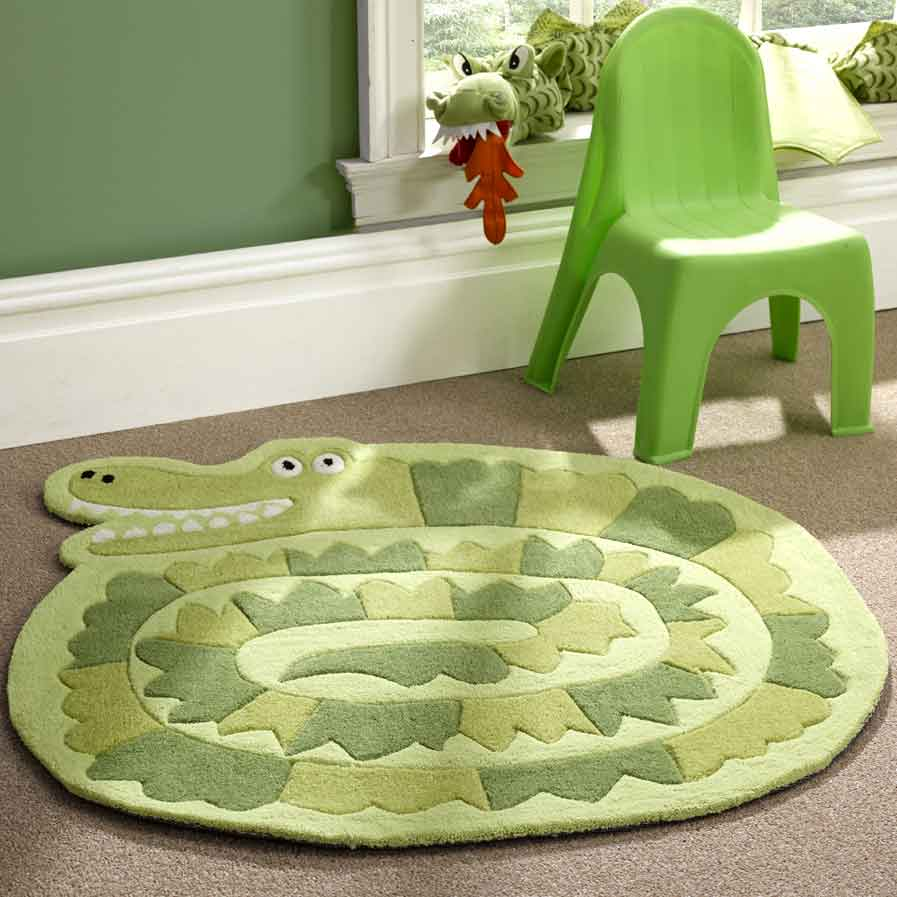 Kiddy Play Crocodile Rug