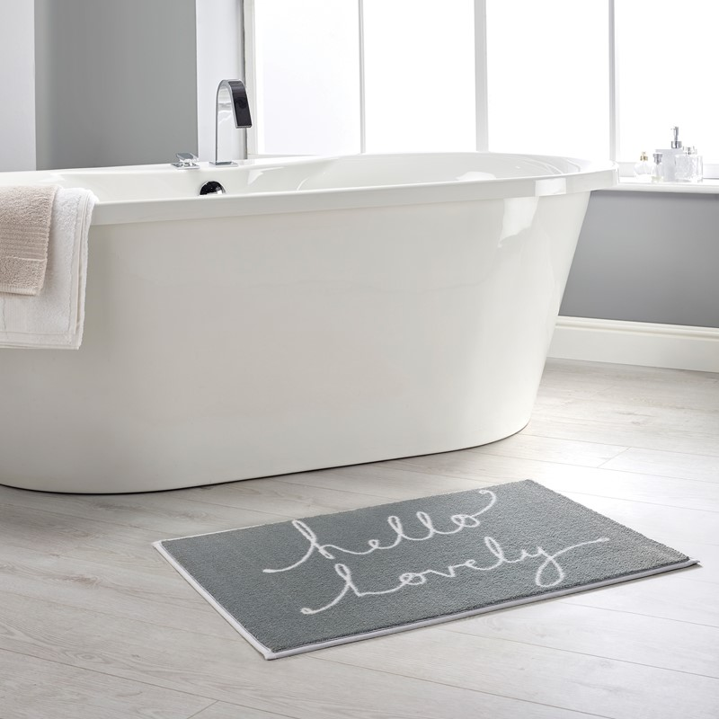 Hello Lovely 1 Bathroom Mats By Dip And Drip Buy Online From The Rug