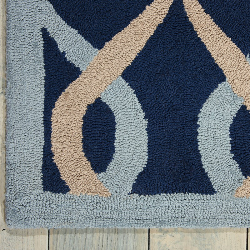 Decor Rugs DER04 By Nourison In Navy Buy Online From The