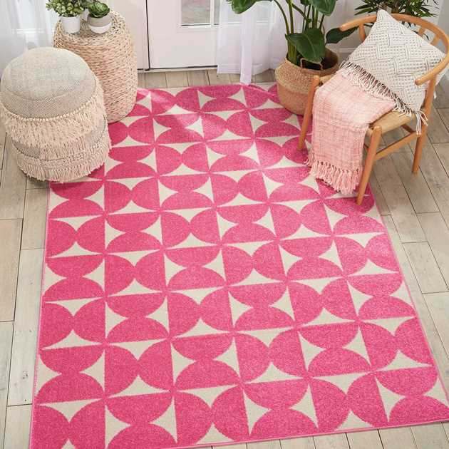 Harper Rugs DS301 by Nourison in Pink