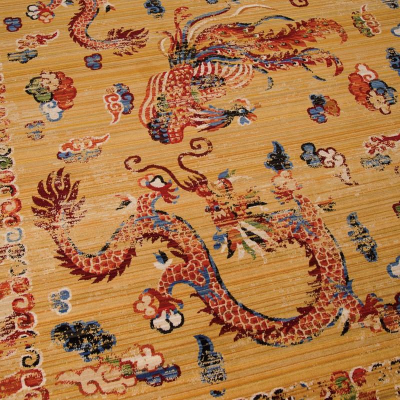 Nourison Dynasty Rugs Dyn02 In Ochre Buy Online From The Rug Seller Uk