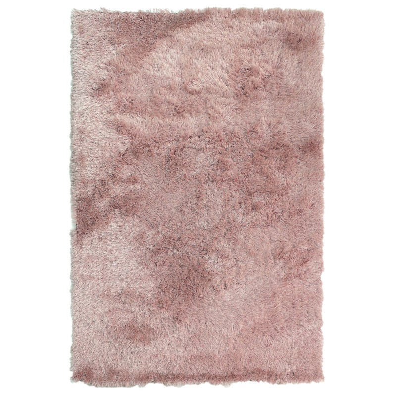 Dazzle Shaggy Rugs In Blush Pink Buy Online From The Rug