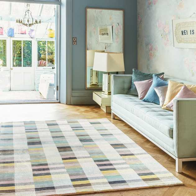 Deco Rugs in Pastel