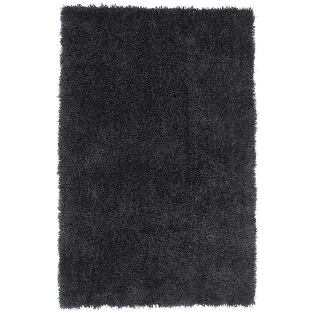 Diva Shaggy Rugs in Charcoal