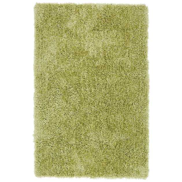 Diva Shaggy Rugs in Green