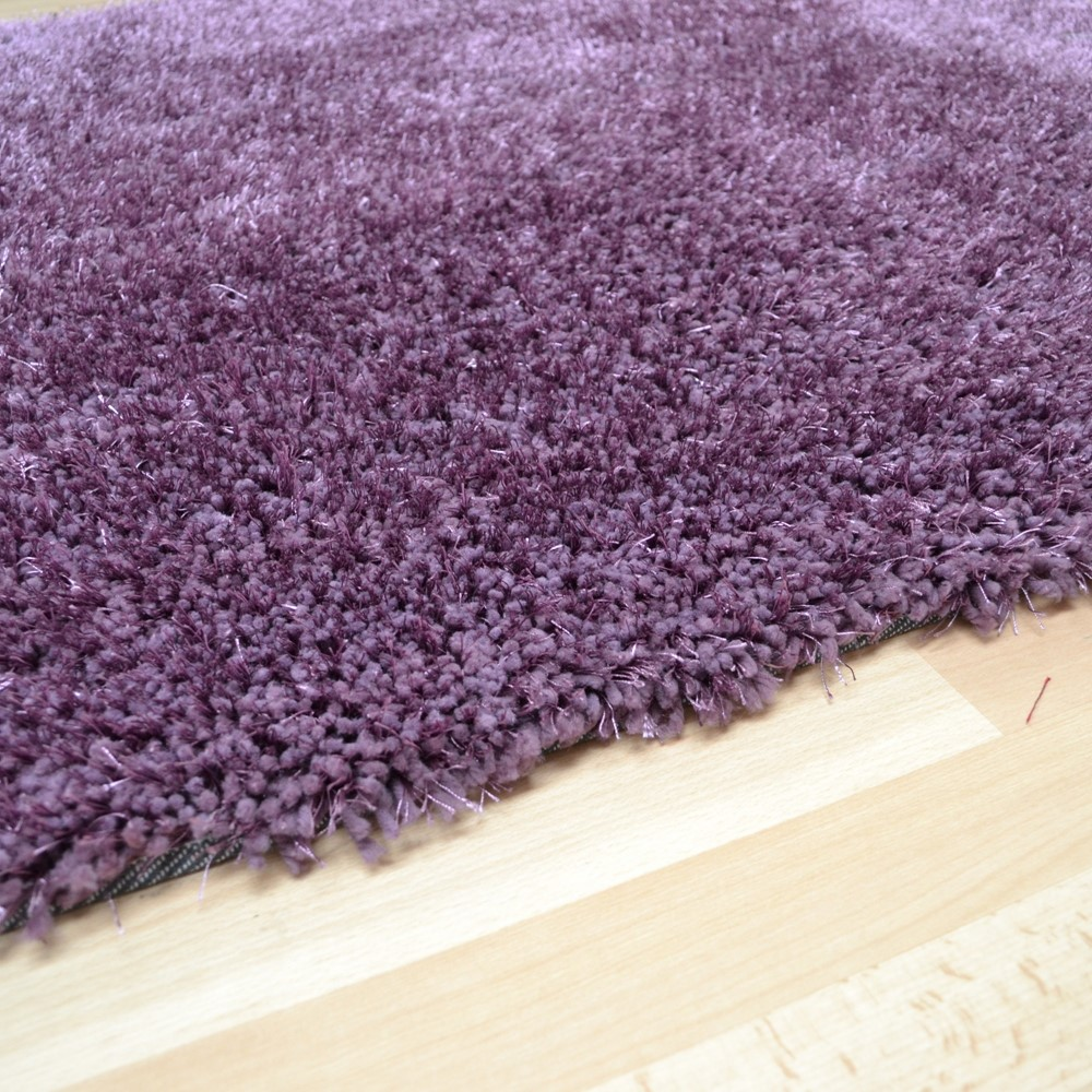 Diva Shaggy Rugs In Heather Free Uk Delivery The Rug