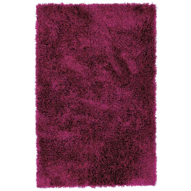 Diva Shaggy Rugs in Pink