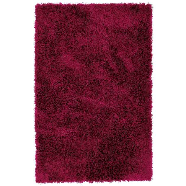 Diva Shaggy Rugs in Red