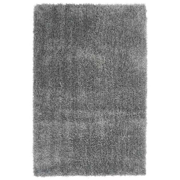 Diva Shaggy Rugs in Silver