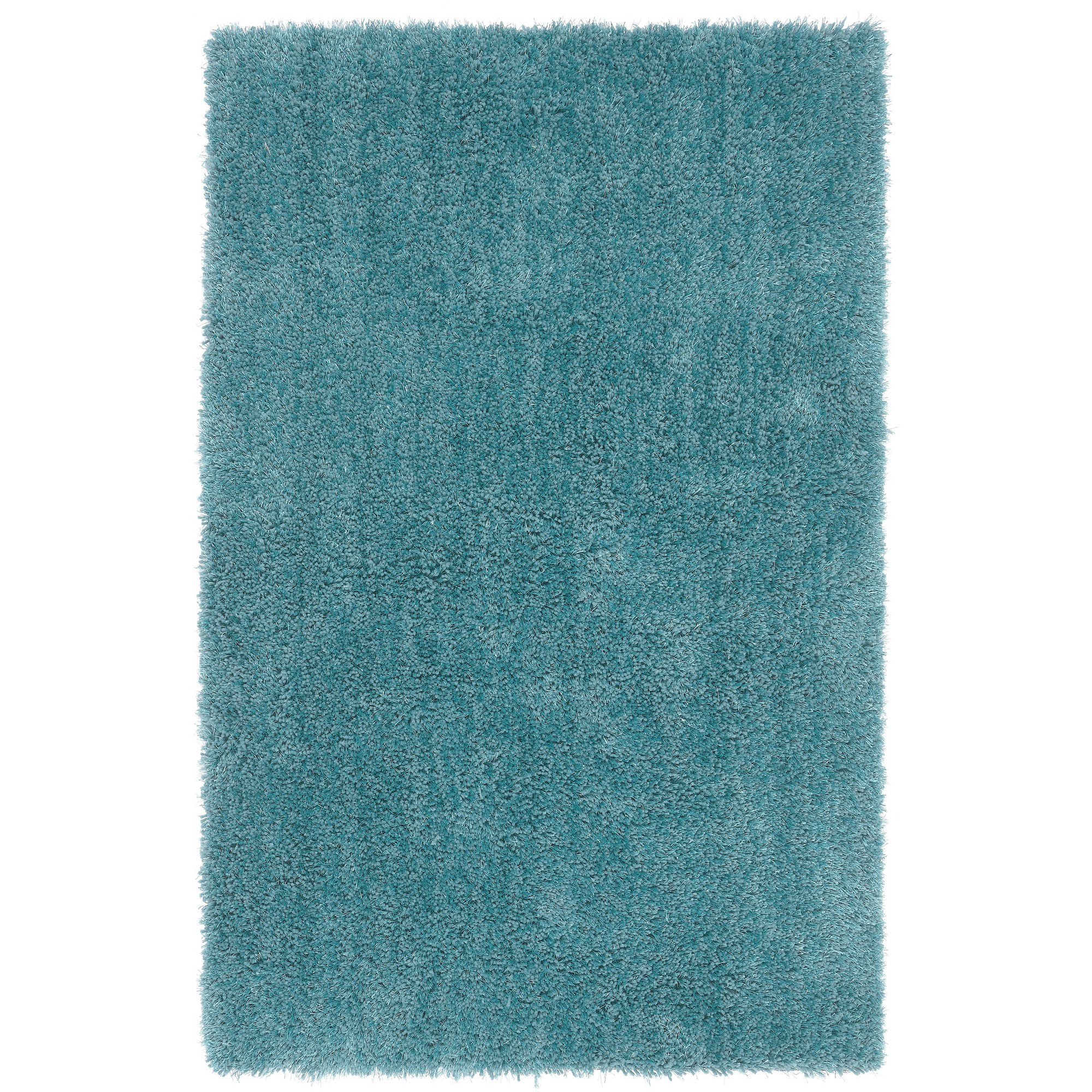 Diva Shaggy Rugs in Teal