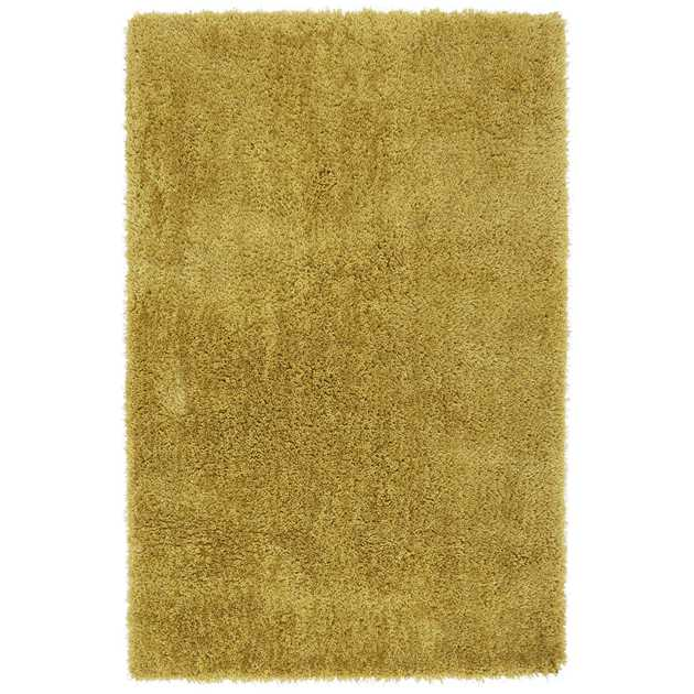 Diva Shaggy Rugs in Yellow