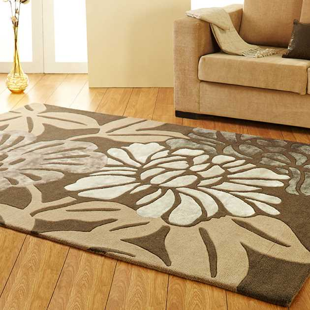 Unique Divine rugs in Chocolate Beige