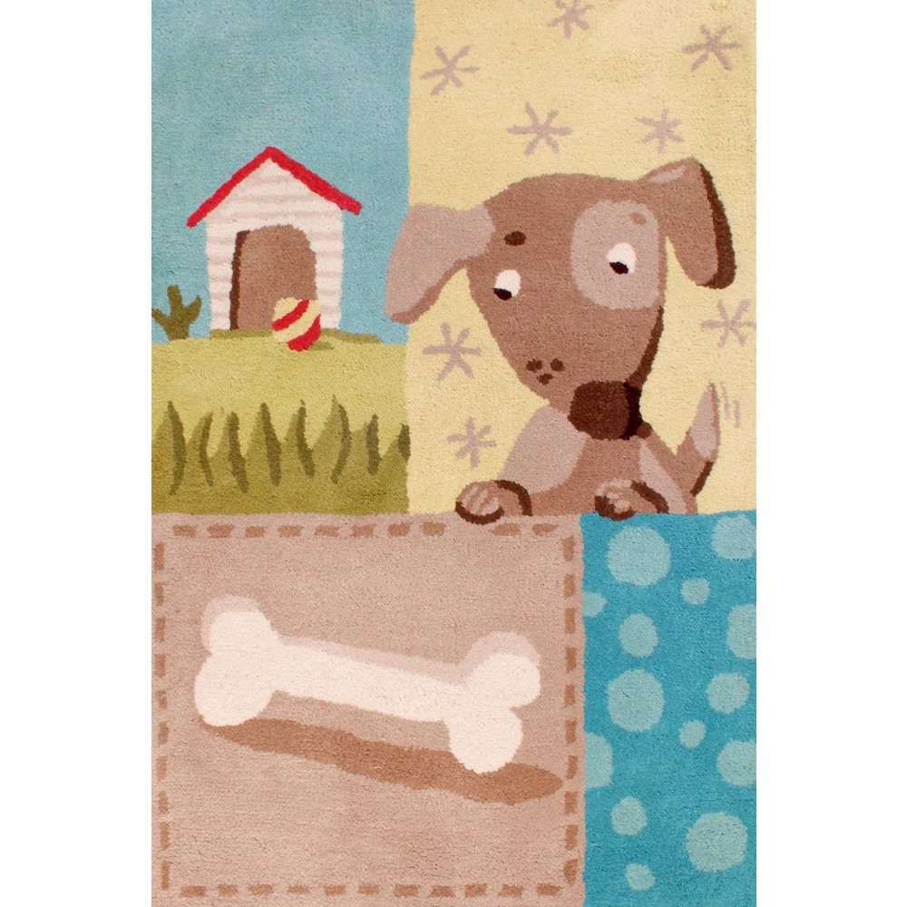 Dog Bone Pet Rug: Kids Unique Dog And Bone Rugs Buy Online From The Rug