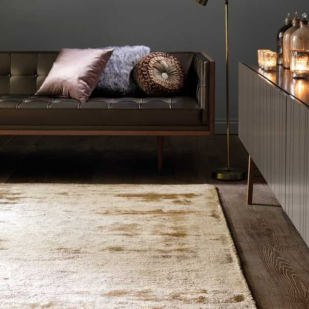 Dolce Rugs in Gold