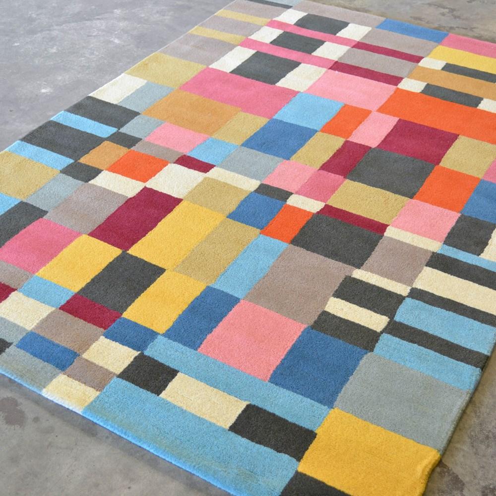 Abacasa Domino Teal Area Rug Reviews: Estella Domino 83901 Wool Rugs By Brink And Campman Buy