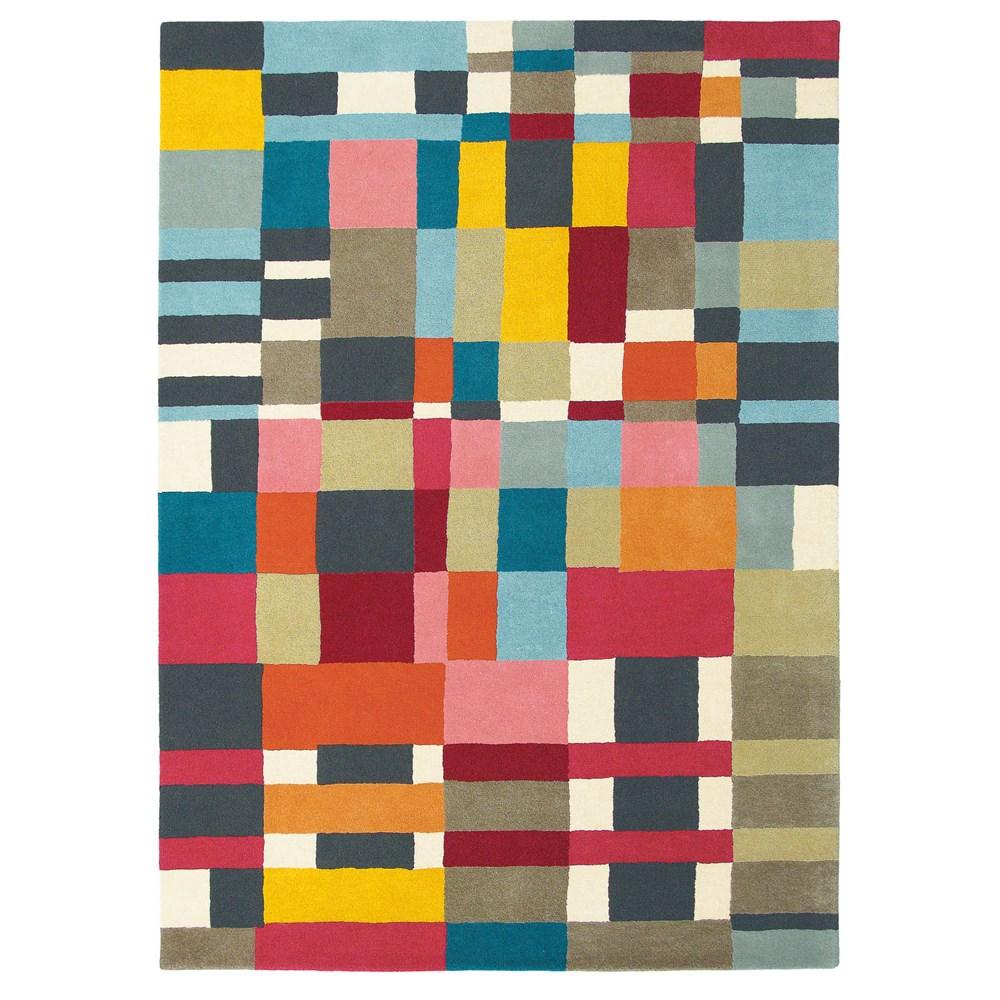 Abacasa Domino Teal Area Rug Reviews: Estella Domino 83901 Wool Rugs By Brink And Campman