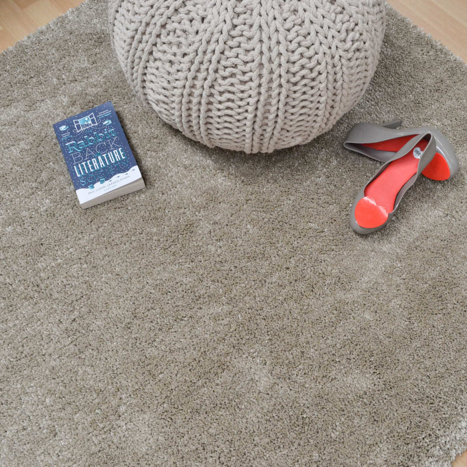 Drift Shaggy Rugs DR02 in Putty