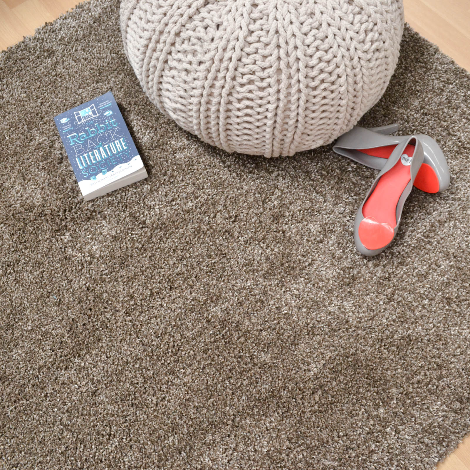 Drift Shaggy Rugs DR05 in Bronze
