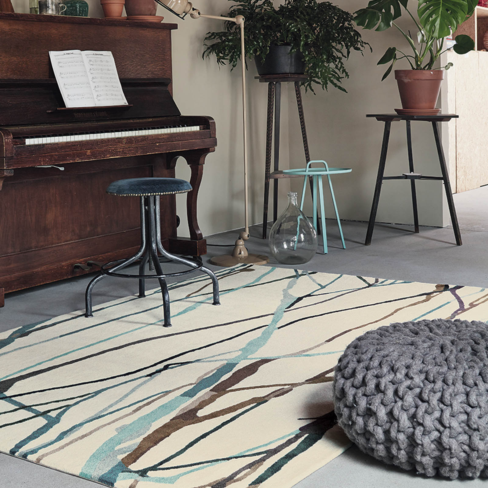 Xian Drip 78104 Rugs by Brink and Campman