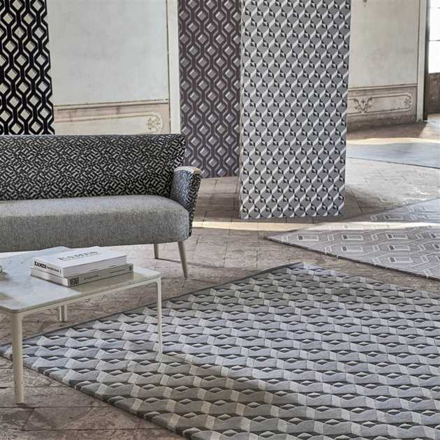Dufrene Zinc Rugs by Designers Guild