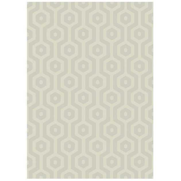 Echo Geo Rugs EC02 in Taupe