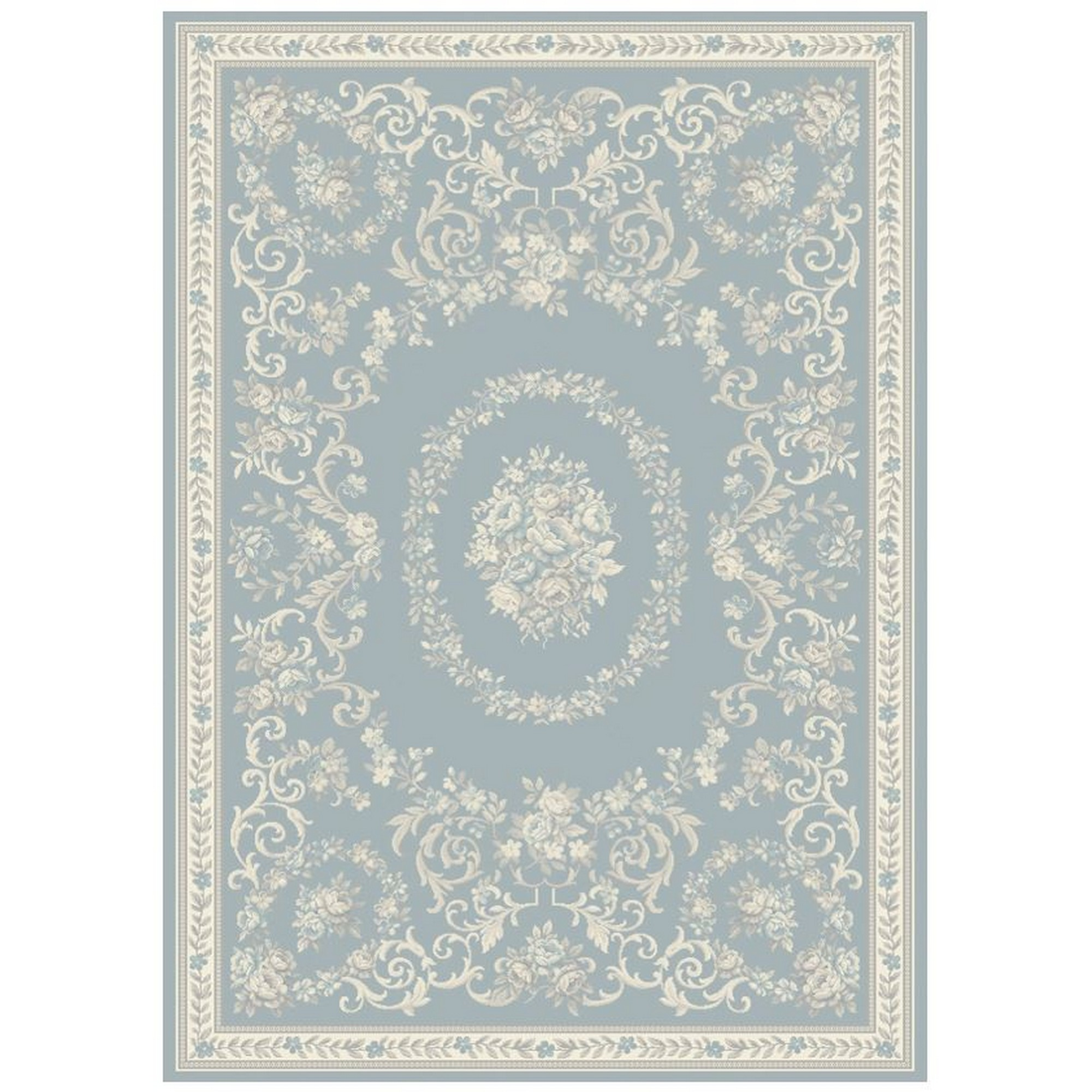 Echo Dauphin Rugs EC10 in Aqua
