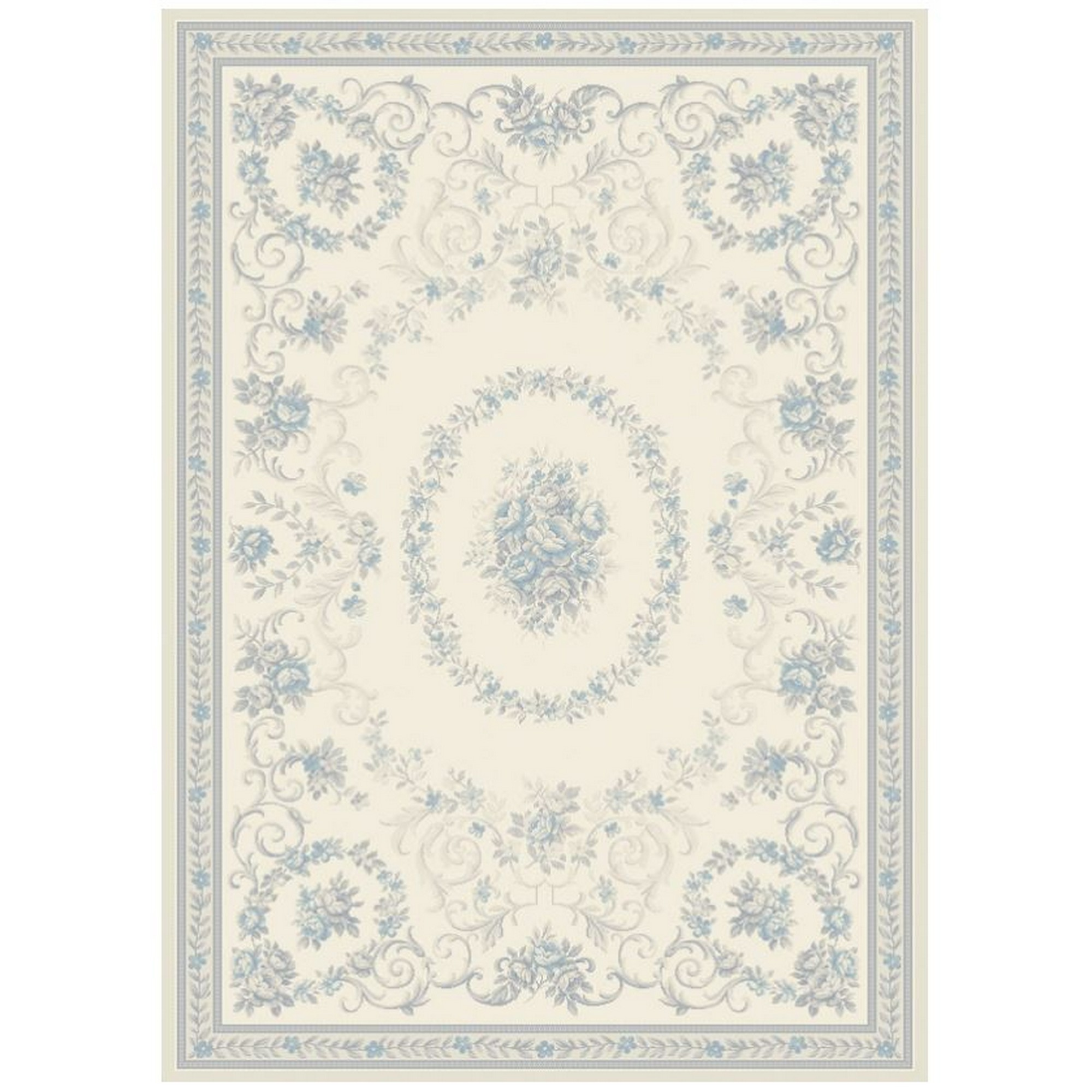 Echo Dauphin Rugs EC11 in Cream