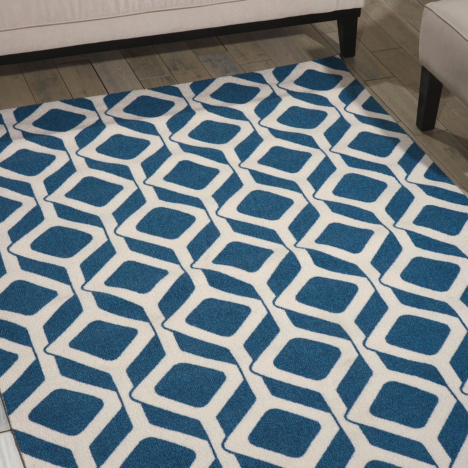 Enhance Rugs EN003 in Cadet Blue