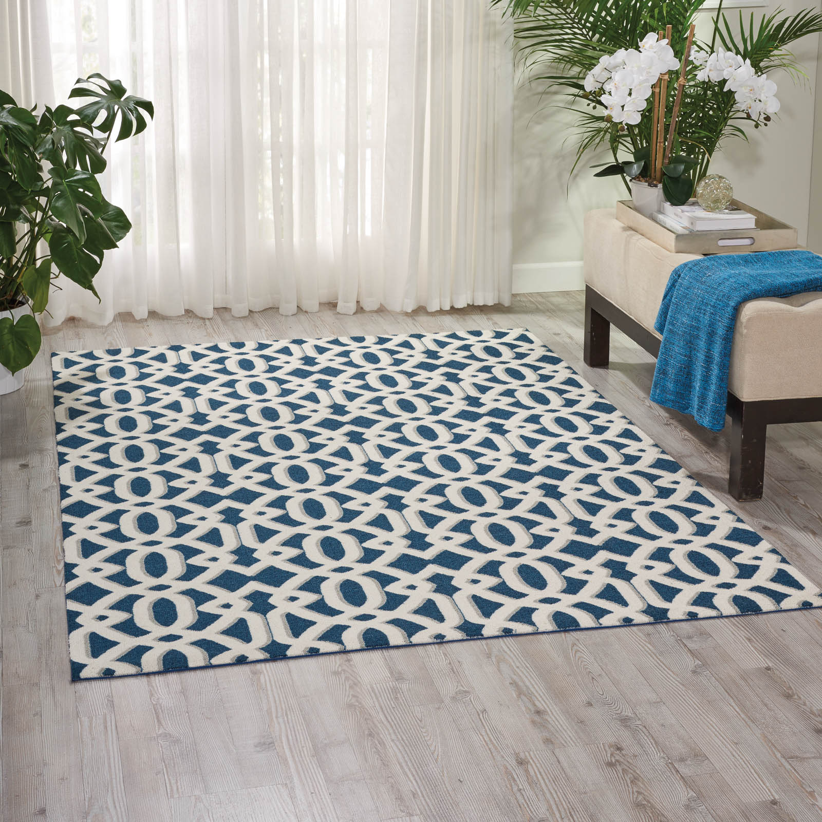 Enhance Rugs EN201 in Blue