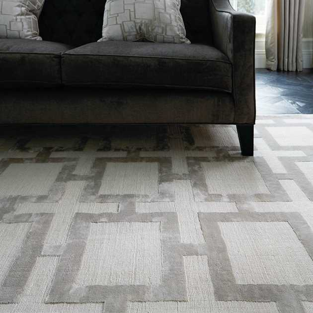 Katherine Carnaby Eaton Rugs in Silver