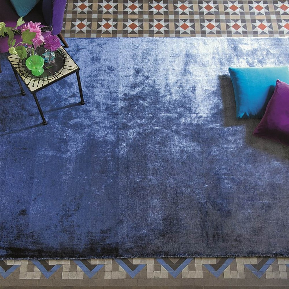 Eberson Cobalt Rug By Designers Guild Buy Online From The