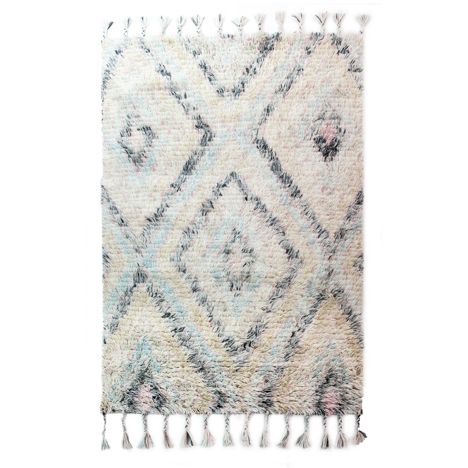 blue navajo rugs. Unique Navajo Eclectic Navajo Rugs In Blue And Cream By Luxmi Throughout