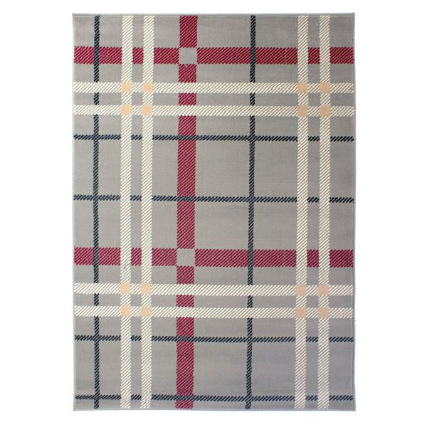 Plaid - Grey