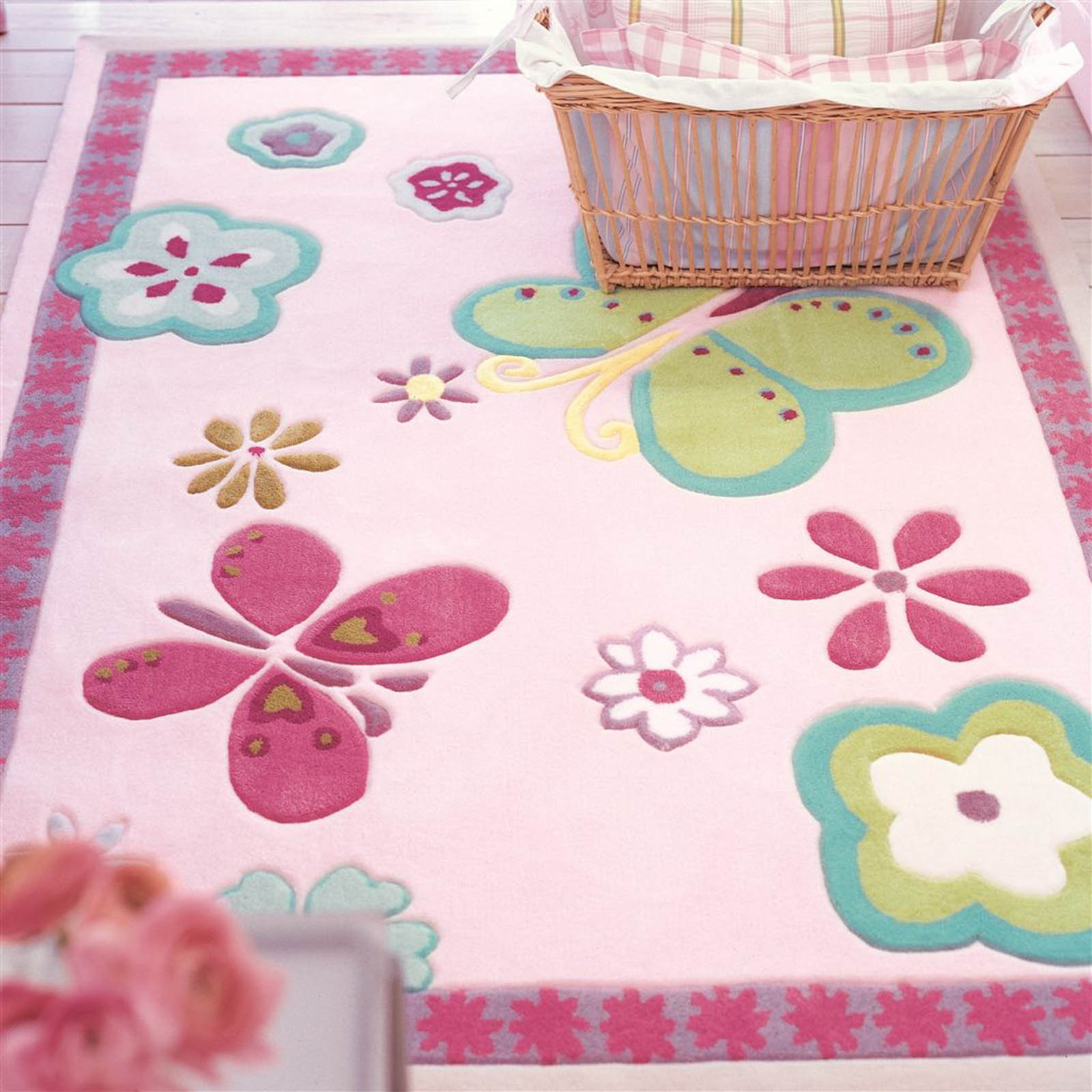 Elgin Flower Rug by Designers Guild