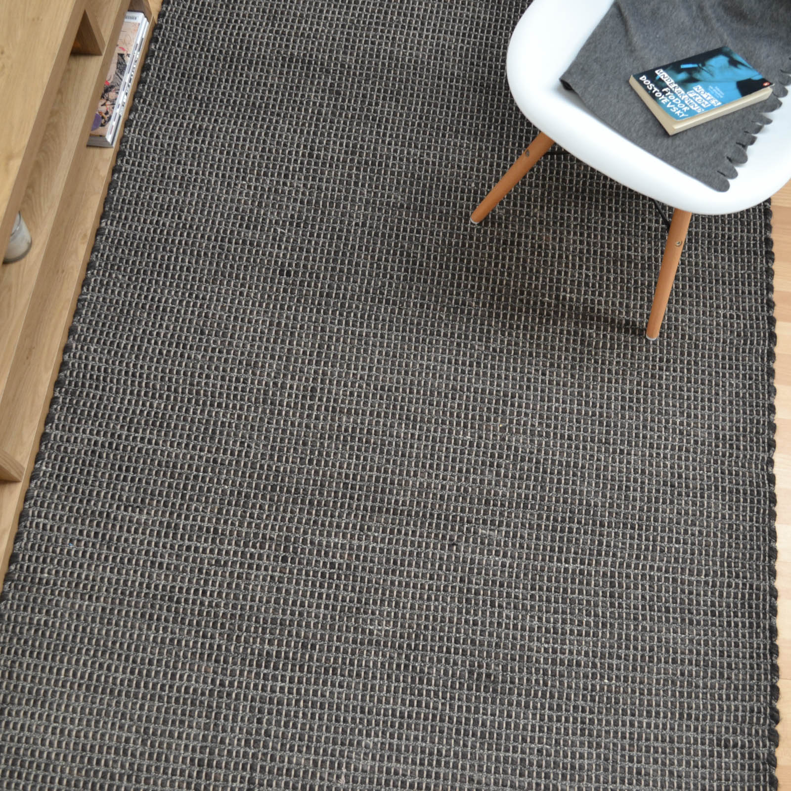 Enzo Rugs in Charcoal