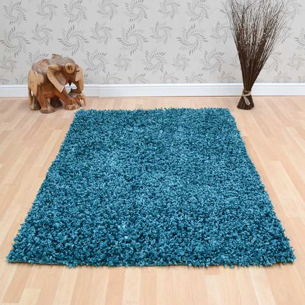 Fantasy Rugs in Teal