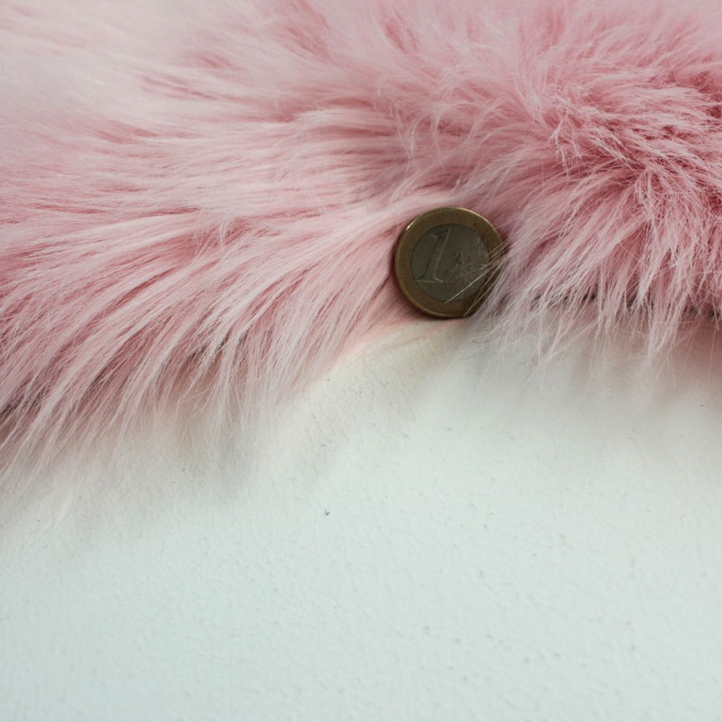 Faux Fur Rugs In Pink Buy Online From The Rug Seller Uk