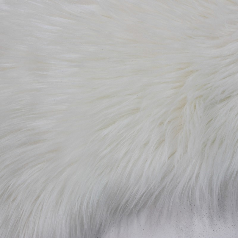 Faux Fur Rugs In White Buy Online From The Rug Seller Uk