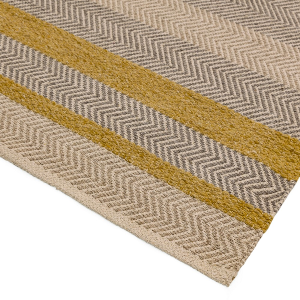 Fields Rugs In Mustard Free Uk Delivery The Rug Seller