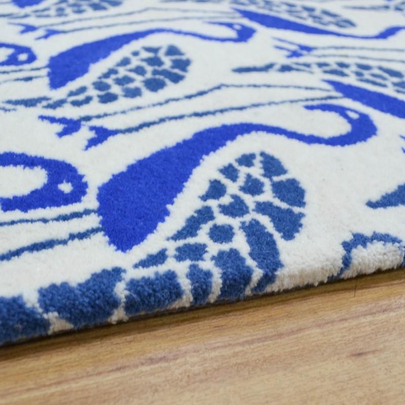 Flamingo Rugs In Blue Buy Online From The Rug Seller Uk