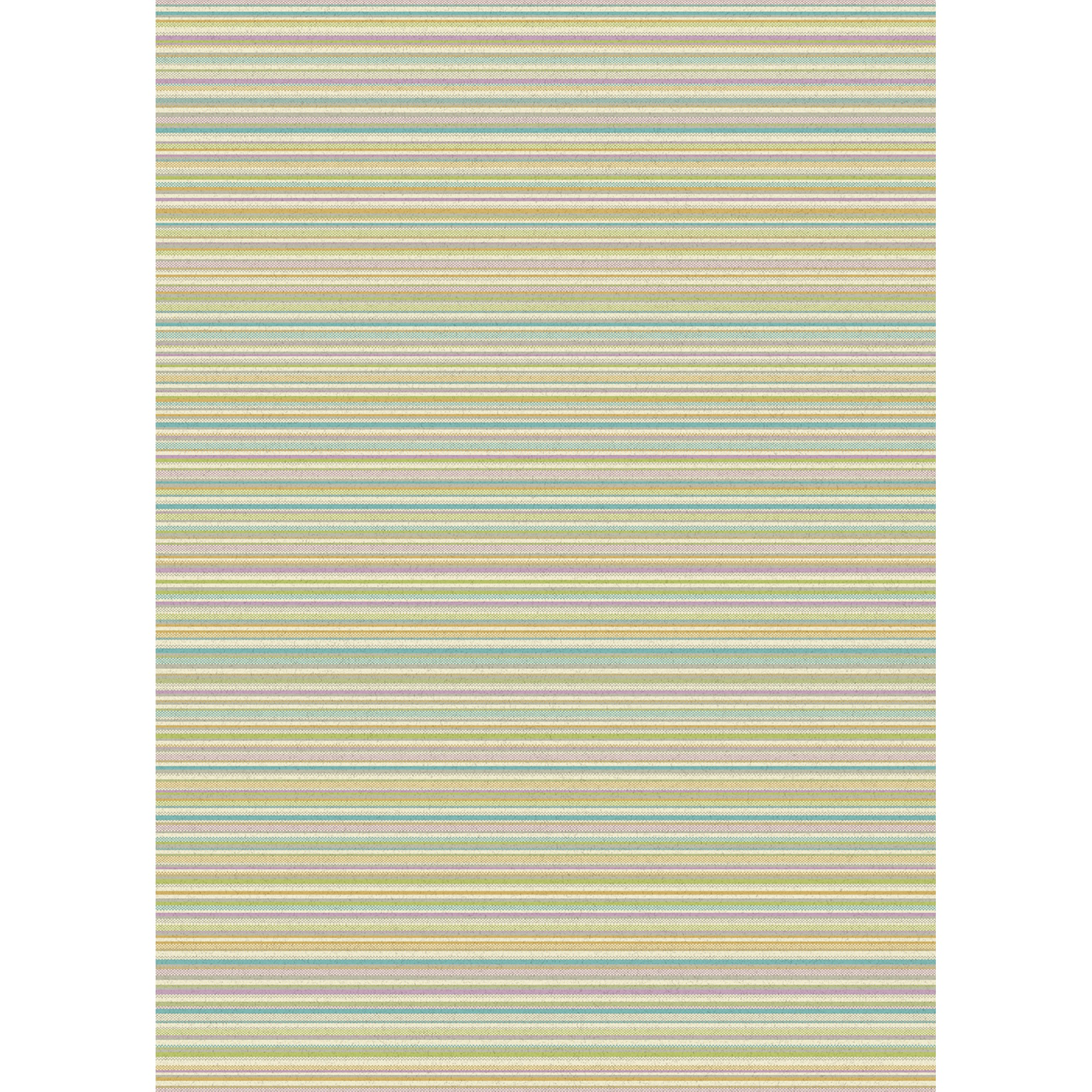 Focus Multi-coloured Stripes Rugs FC04