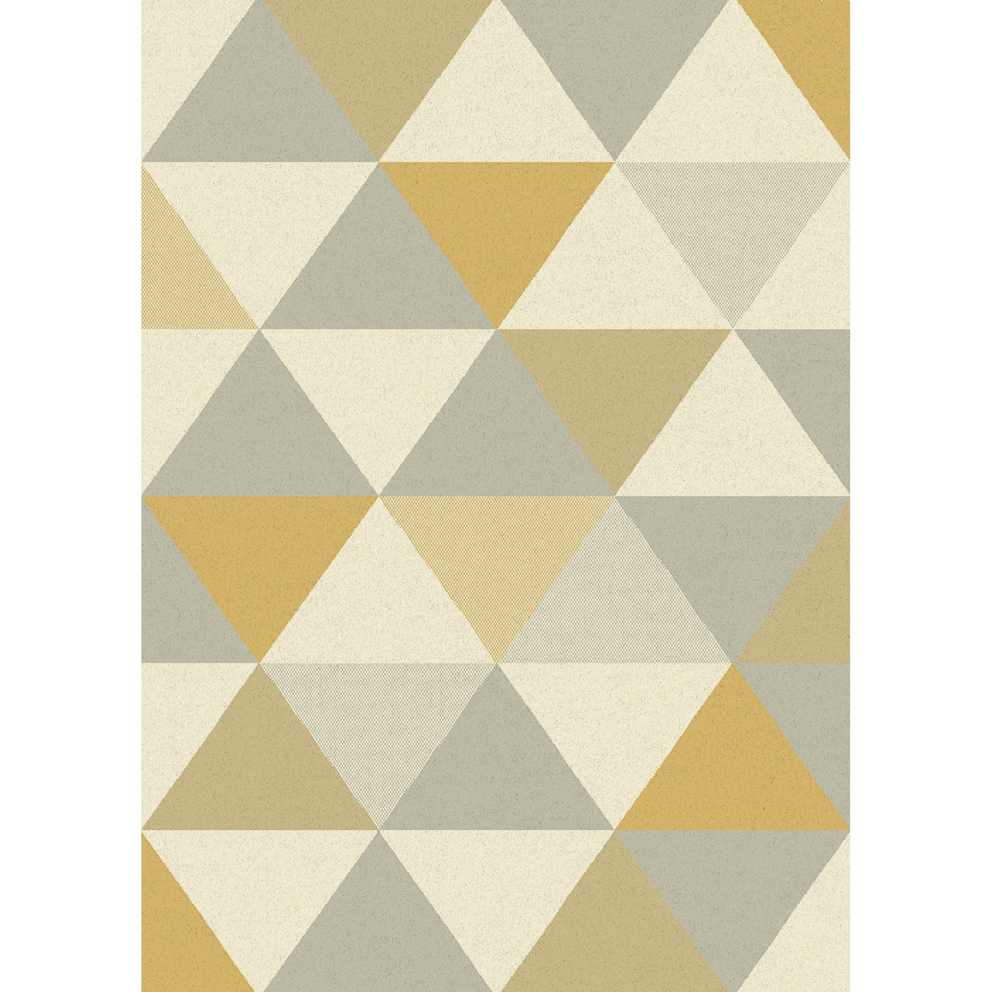 Focus Triangles Rugs FC03 in Ochre