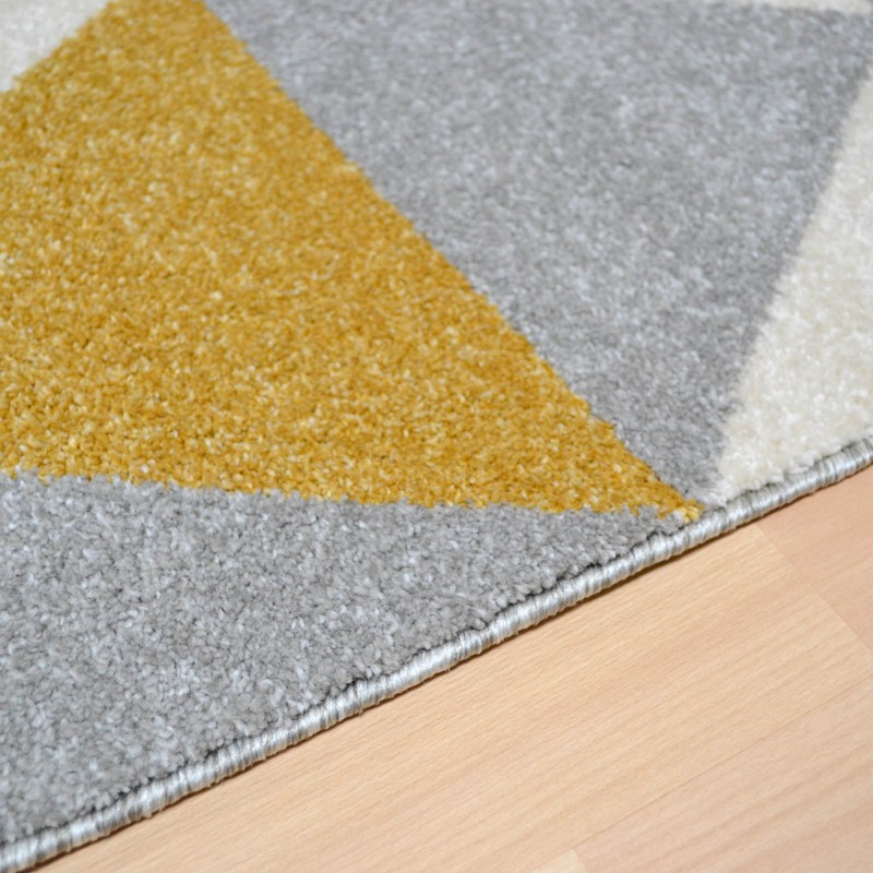 Focus Triangles Rugs Fc03 In Ochre Buy Online From The Rug