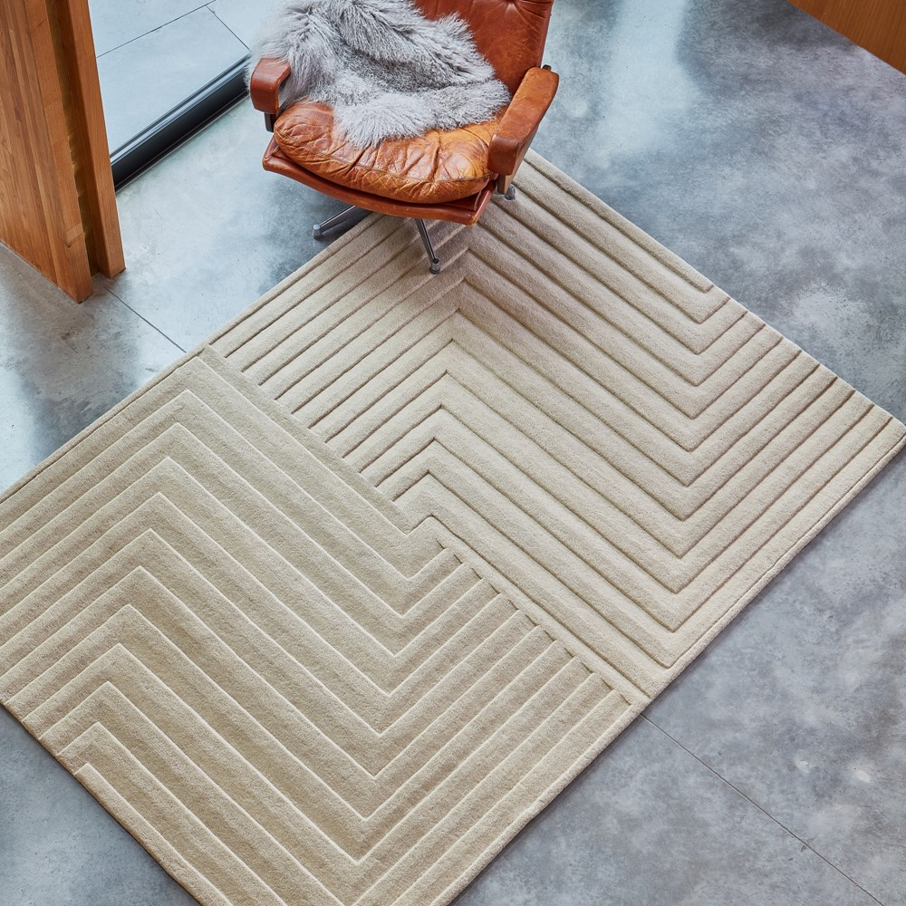 Form Rugs In Natural Buy Online From The Rug Seller Uk