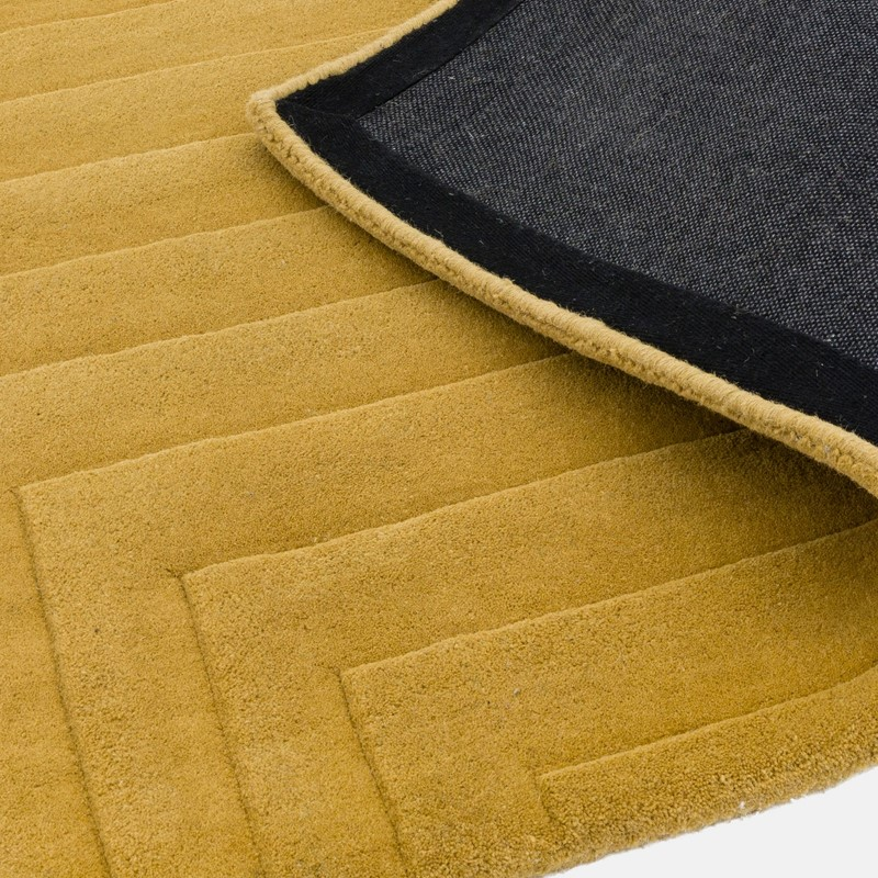 Form Rugs In Ochre Buy Online From The Rug Seller Uk