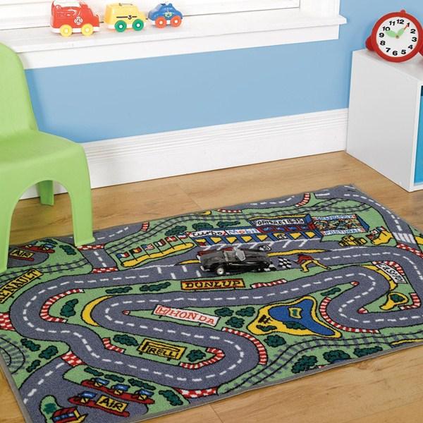 Washable Play Rugs: Matrix Formula One Washable Play Rug